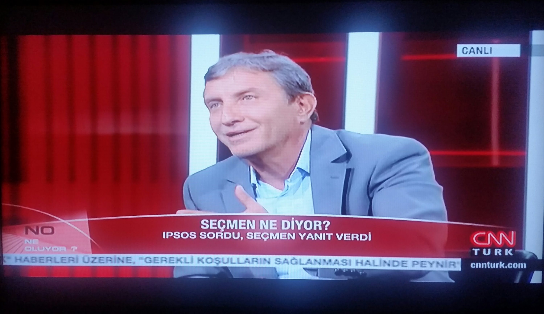 CNN Türk Ne Oluyor Programı:Türkiye Barometresi Eylül 2015
